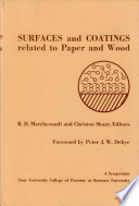 Surfaces And Coating Related To Paper And Wood Book PDF