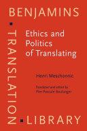Pdf Ethics and Politics of Translating Telecharger