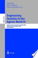 Engineering Societies in the Agents World III
