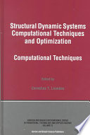 Structural Dynamic Systems Computational Techniques and Optimization Book