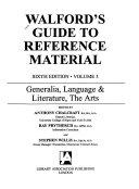 Generalia  Language   Literature  the Arts