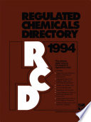 Regulated Chemicals Directory 1994