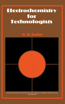 Electrochemistry for Technologists [Pdf/ePub] eBook