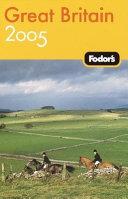 Fodor's 05 Great Britain