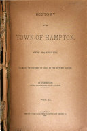 History of the Town of Hampton, New Hampshire
