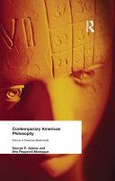 Contemporary American Philosophy Pdf/ePub eBook