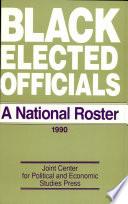 Black Elected Officials 1990
