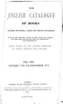 The English Catalogue of Books ebook