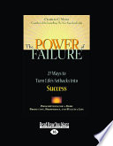 The Power of Failure: 27 Ways to Turn Life's Setbacks Into Success (Large Print 16pt) Pdf/ePub eBook