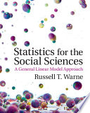 Statistics for the Social Sciences Book