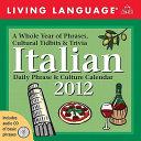 Living Language Italian  Daily Phrase and Culture Calendar