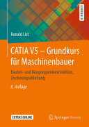CATIA V5 – Grundkurs für Maschinenbauer