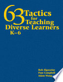 63 Tactics For Teaching Diverse Learners K 6