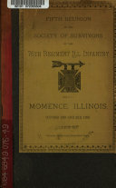 Reunion of the Society of the Survivors of the Seventy-sixth Regiment Illinois Infantry ...