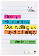 Doing Research in Counselling and Psychotherapy