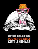 Tween Coloring Books For Girls  Cute Animals
