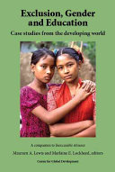 Exclusion  Gender and Education