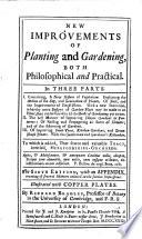 New improvements of plantingand gardening