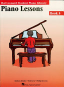 Piano Lessons Book 5 (Music Instruction)