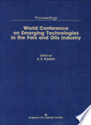 World Conference On Emerging Technologies In The Fats And Oils Industry Book PDF