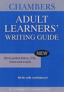 Chambers Adult Learners' Writing Guide