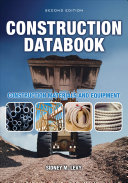 Construction Databook  Construction Materials and Equipment