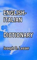 English / Italian Dictionary [Pdf/ePub] eBook