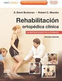 Pdf Rehabilitación ortopédica clínica + ExpertConsult Telecharger