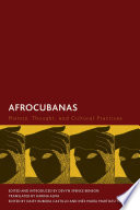 Book cover for Afrocubanas : history, thought, and cultural practices