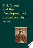 T H Green And The Development Of Ethical Socialism