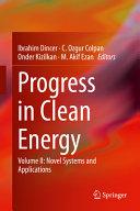 Progress in Clean Energy  Volume 2