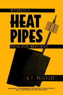 An Introduction to Heat Pipes Book