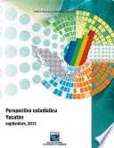 Perspectiva estadística. Yucatán. 2000-2013