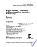 Raman Scattering, Luminescence, and Spectroscopic Instrumentation in Technology