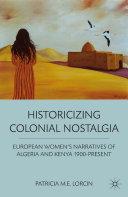 Pdf Historicizing Colonial Nostalgia Telecharger
