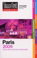 Time Out Shortlist 2009 Paris