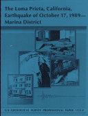 The Loma Prieta, California, Earthquake of October 17, 1989 - Marina District