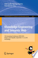 Knowledge Engineering and Semantic Web Book