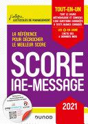 Pdf Score IAE-Message - 2021 Telecharger