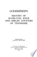 Goodspeed's History of Hamilton, Knox, and Shelby Counties of Tennessee.epub