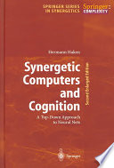 Synergetic Computers and Cognition
