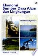 Ekonomi sumber daya alam dan lingkungan