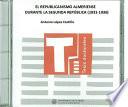 El republicanismo Almeriense durante la segunda república (1931-1936)