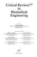Critical Reviews in Biomedical Engineering Book