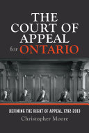Pdf The Court of Appeal for Ontario Telecharger
