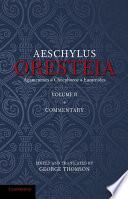 The Oresteia of Aeschylus Book