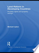Land Reform in Developing Countries