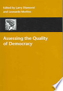 Assessing the Quality of Democracy