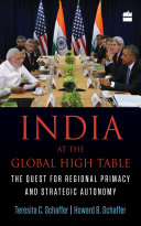 India At The Global High Table The Quest For Regional Primacy And Strategic Autonomy