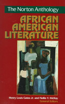 The Norton Anthology Of African American Literature Book